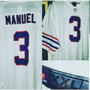 EJ Manuel Buffalo Bills Football Jersey